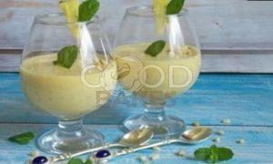 Ананасовый смузи с кедровыми орешками рецепт шаг 3