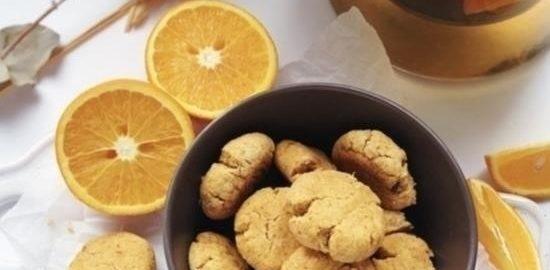 Апельсиновое печенье без сахара кулинарный рецепт