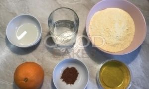Апельсиновое печенье без сахара рецепт шаг 1