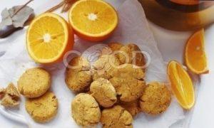 Апельсиновое печенье без сахара рецепт шаг 11