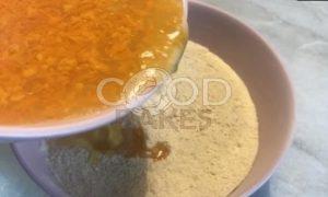 Апельсиновое печенье без сахара рецепт шаг 6