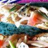 Багет с мидиями и креветками кулинарный рецепт