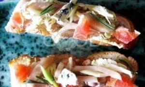 Багет с мидиями и креветками рецепт шаг 5