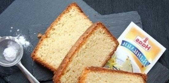 Бархатный сливочный кекс кулинарный рецепт