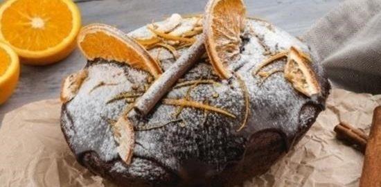 Безглютеновый шоколадный кекс кулинарный рецепт