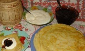 Блинчики «Любимые» кулинарный рецепт