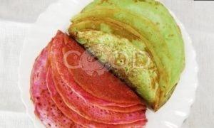 Блинный торт с форелью и красной икрой рецепт шаг 7