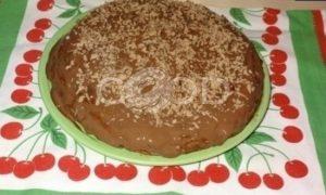 Блинный торт «Шоколадное удовольствие» рецепт шаг 13