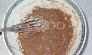 Блинный торт «Шоколадное удовольствие» рецепт шаг 5