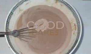 Блинный торт «Шоколадное удовольствие» рецепт шаг 6