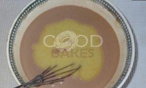 Блинный торт «Шоколадное удовольствие» рецепт шаг 7