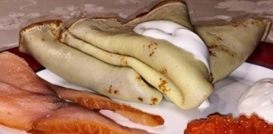 Блины на пахте кулинарный рецепт