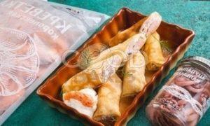 Блины с морепродуктами рецепт шаг 12