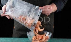 Блины с морепродуктами рецепт шаг 7