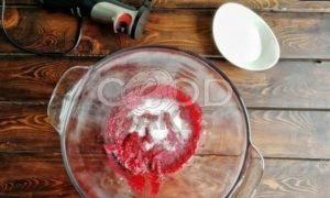 Брусничный влажный зефир без сахара рецепт шаг 11