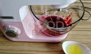 Брусничный влажный зефир без сахара рецепт шаг 14