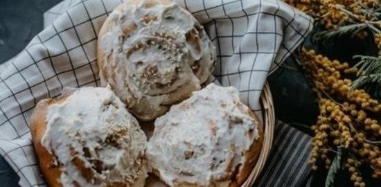 Булочка с корицей «Синнабон» кулинарный рецепт