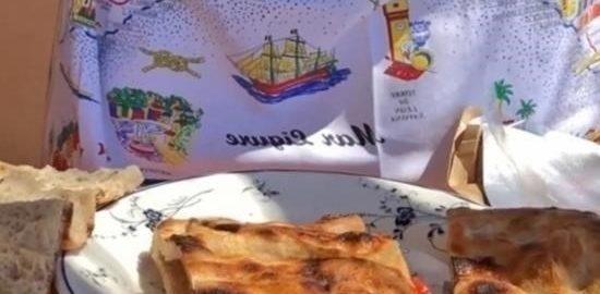 Бутерброд «Портофино» с мортаделлой и соусом песто кулинарный рецепт