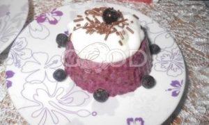 Черничный десерт рецепт шаг 6