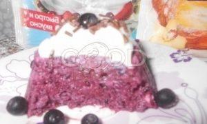 Черничный десерт рецепт шаг 7