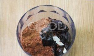 Десертная паста из чернослива с какао рецепт шаг 1