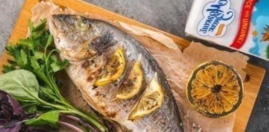 Дорада, жаренная на гриле кулинарный рецепт