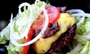 Двойной гамбургер рецепт шаг 10