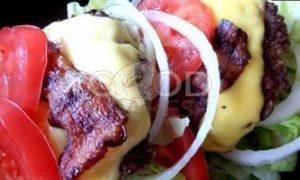 Двойной гамбургер рецепт шаг 14