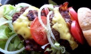Двойной гамбургер рецепт шаг 15