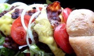 Двойной гамбургер рецепт шаг 20
