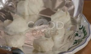 Фисташковый фондан с марципаном рецепт шаг 2