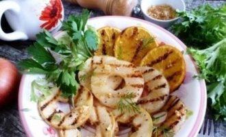 Фрукты на гриле (гарнир к шашлыкам) кулинарный рецепт