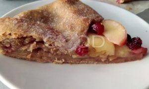 Галета с яблоками на полбяной муке рецепт шаг 11