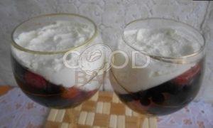 Ягодно-творожный десерт рецепт шаг 5
