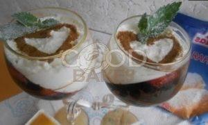 Ягодно-творожный десерт рецепт шаг 6