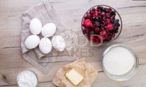 Ягодное суфле рецепт шаг 1