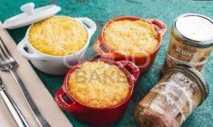 Картофельная запеканка с тунцом рецепт шаг 8
