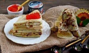 Картофельные блины с икрой «Масленичные» рецепт шаг 8