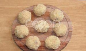 Картопляники с беконом и луком рецепт шаг 8