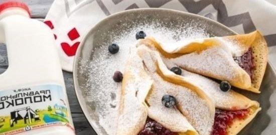 Катаеф (арабские блинчики) с джемом кулинарный рецепт