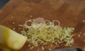 Кекс с голубикой и лимонной глазурью рецепт шаг 4