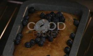 Кекс с голубикой и лимонной глазурью рецепт шаг 7