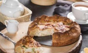 Холодный пирог с макрурусом кулинарный рецепт