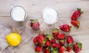 Клубничное мороженое рецепт шаг 1