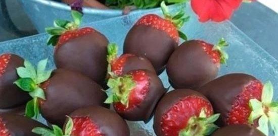 Клубника в шоколаде кулинарный рецепт