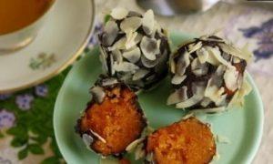 Конфеты тыквенные кулинарный рецепт