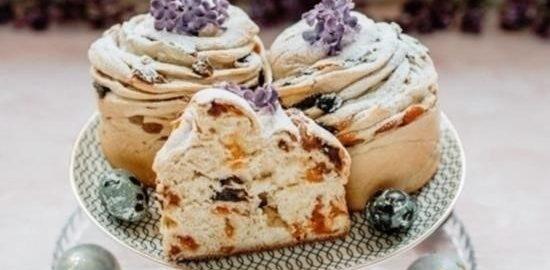 Кулич-краффин кулинарный рецепт