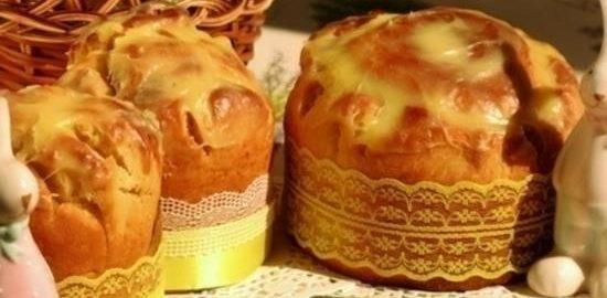 Кулич «Цветок» кулинарный рецепт