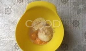Куличи-краффины с орехами и изюмом рецепт шаг 2