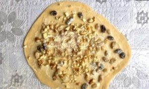 Куличи-краффины с орехами и изюмом рецепт шаг 5
